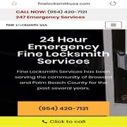 24 Hor uEmergency Fine Locksmith Service